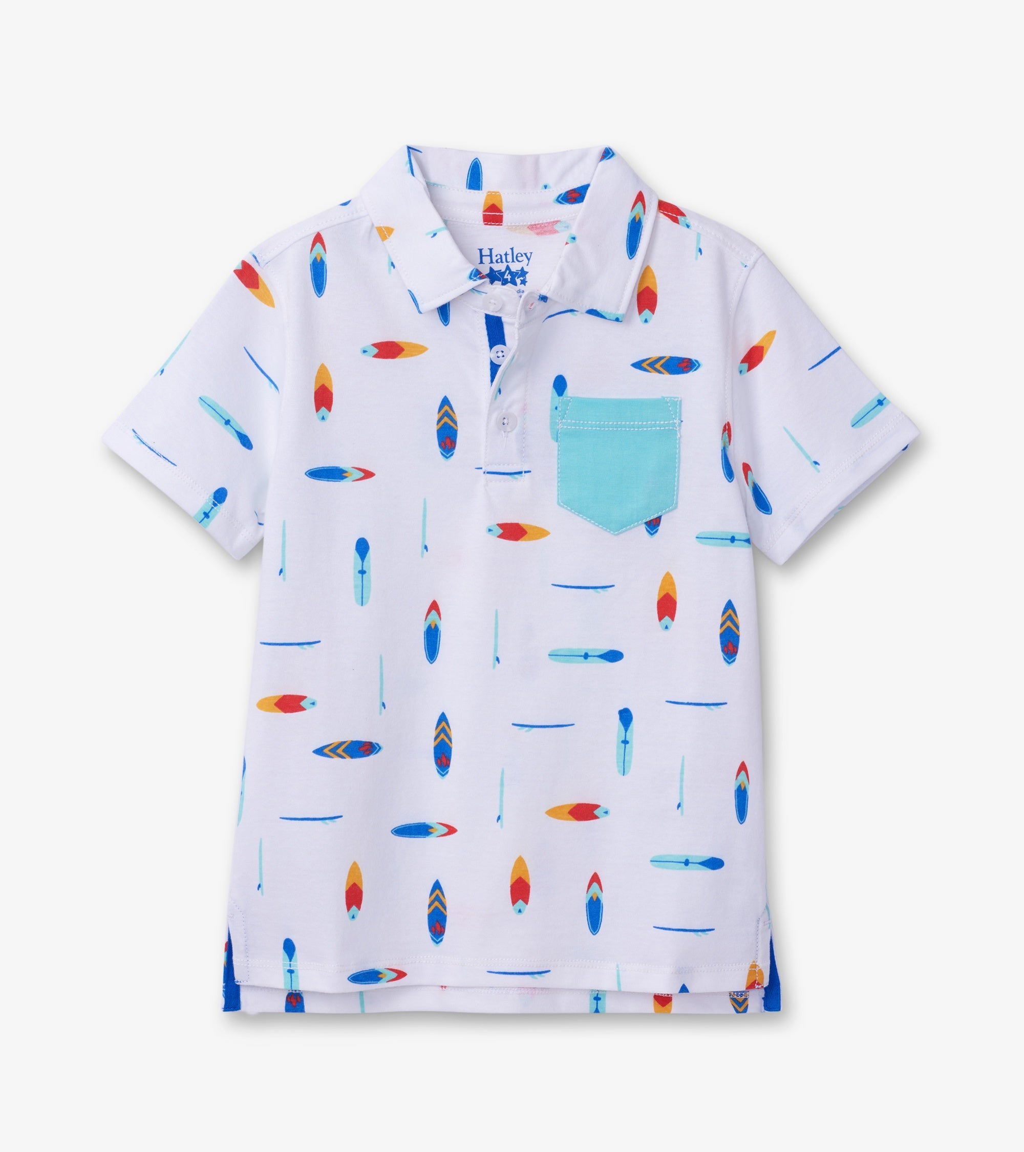 Surfboards Polo Tee