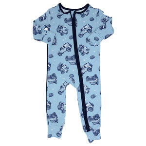 Sweet Bamboo Jeeps Romper