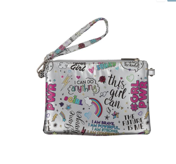Bari Lynn Girl Power Purse