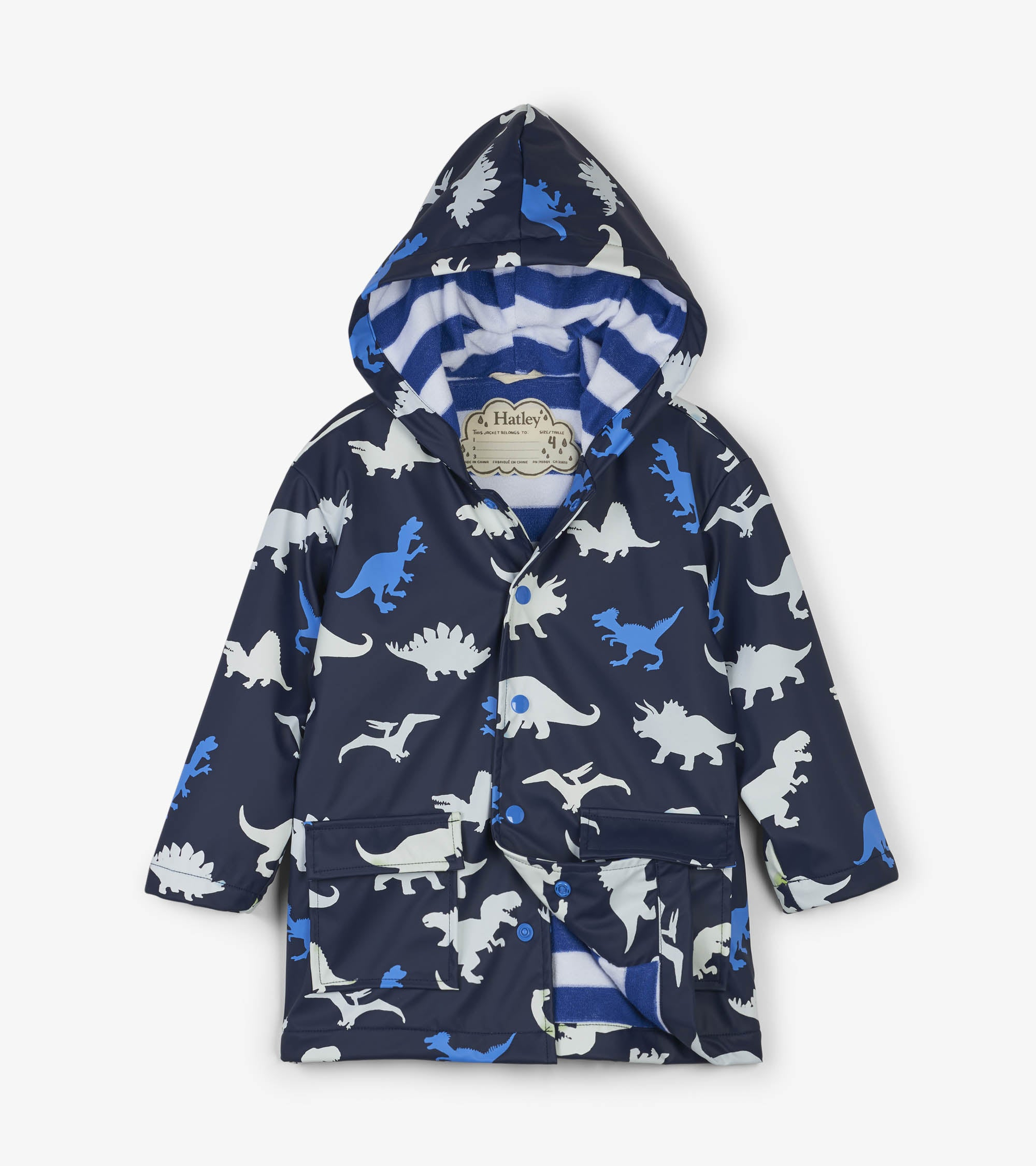 Hatley Dinosaur Color Changing Raincoat