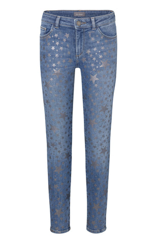 DL1961 Metallic Stars Denim
