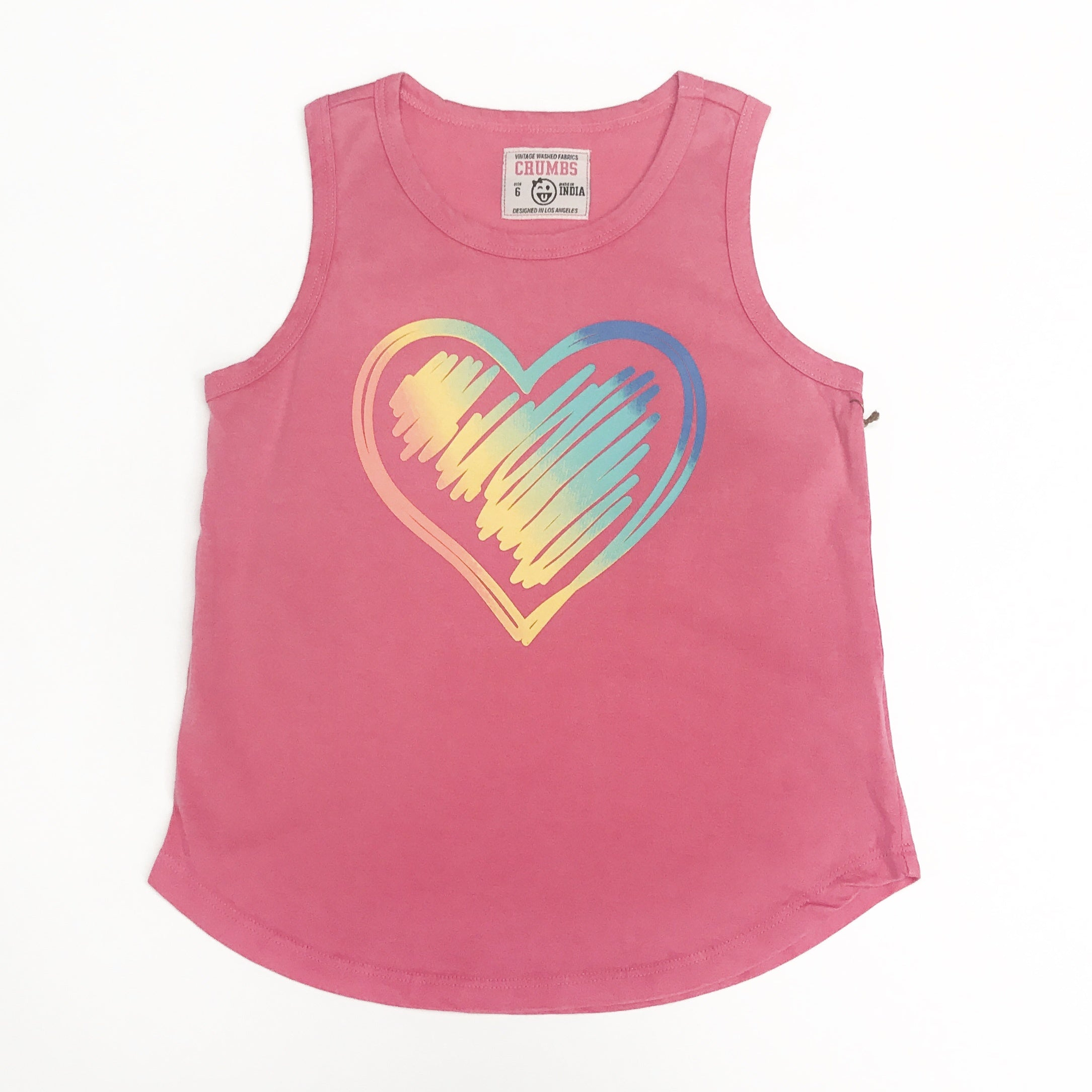Colorful Heart Tank