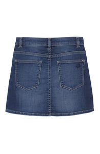 DL1961 Jenny Knit Denim Skirt