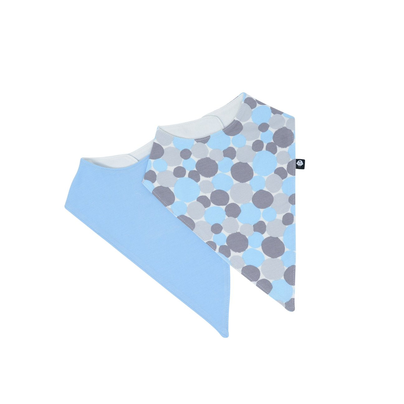 Sweet Bamboo Blue Dots Bib