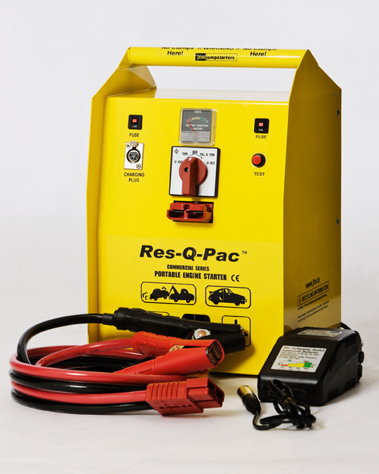 Heavy Duty 12/24 Volt Professional Jump Starter Power Pack