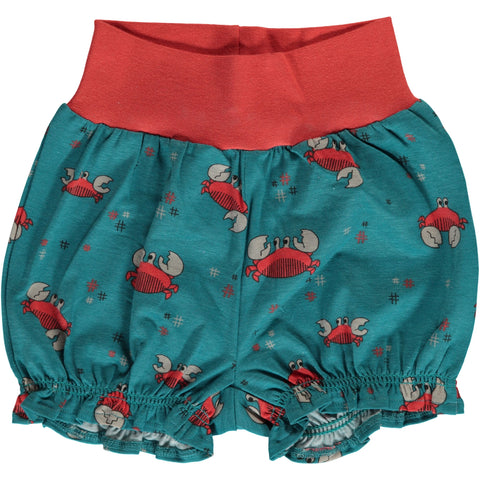 Maxomorra Crab Rib Shorts