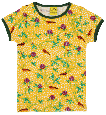 Duns Sweden Red Clover T-Shirt Yellow