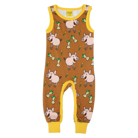 Duns Sweden Pig Chipmunk Brown Dungarees