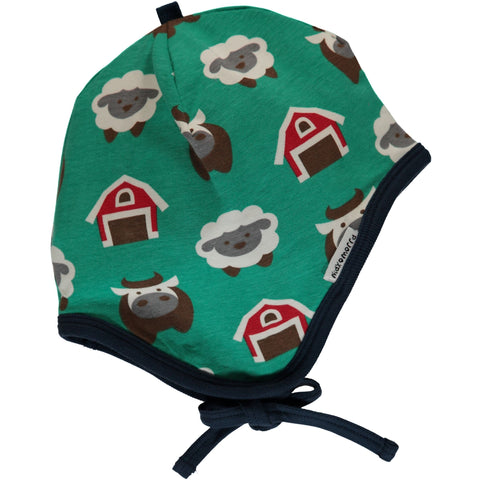 Maxomorra Farm Baby Helmet Hat
