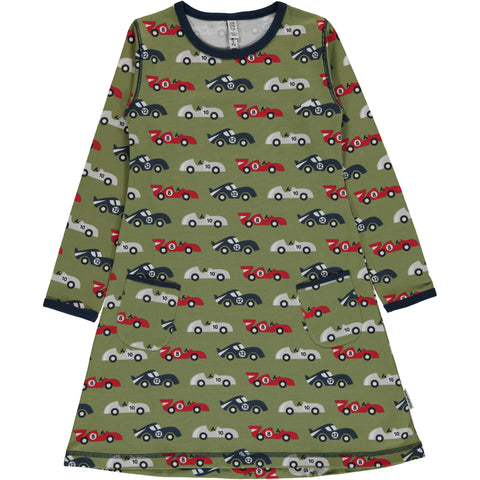 Maxomorra Race Car Dress