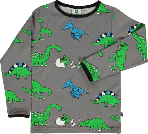 Smafolk Dinosaurs Top Grey