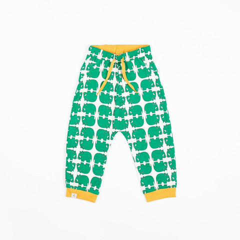 Alba of Denmark Lucca Baby Pants Pepper Green Wanna Be An Animal