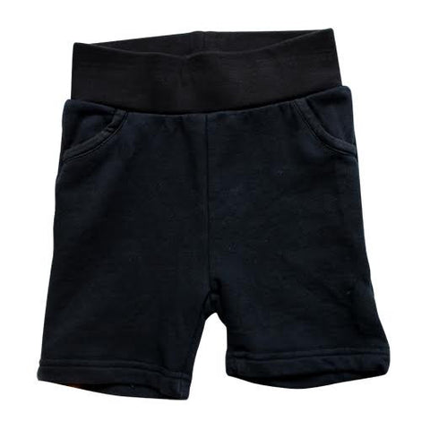 Mini Cirkus Caviar Black Shorts