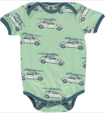 Smafolk Cars Body Vest Short Sleeves