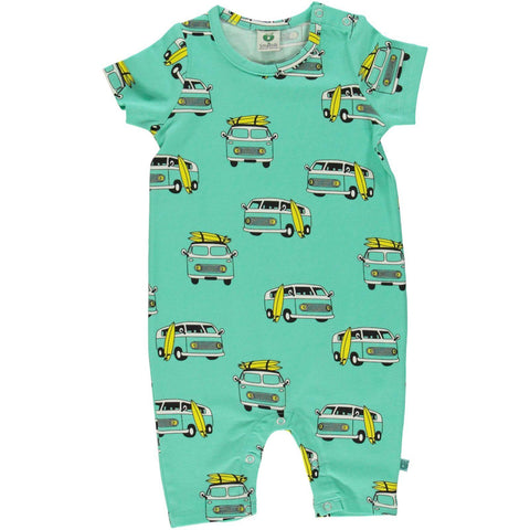 Smafolk Surf Car Summer Shortie Romper