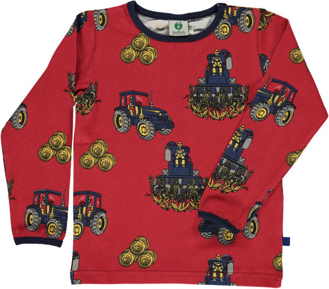 Smafolk Tractors Top Red
