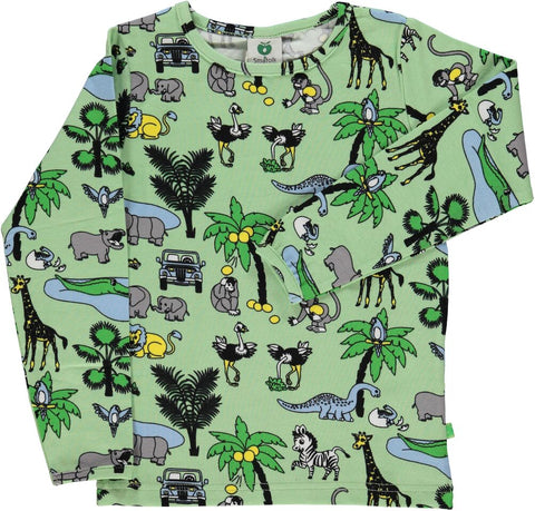 Smafolk Jungle Landscape Top Green