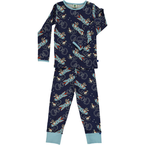 Smafolk Rockets Pyjama Set Blue