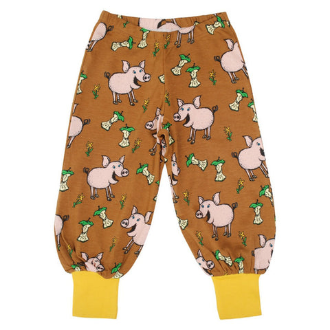 Duns Sweden Pig Chipmunk Brown Baggy Trousers