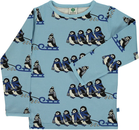 Smafolk Penguin Top Air Blue