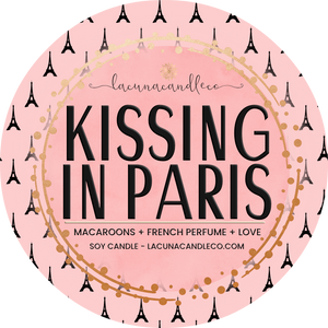 Kissing In Paris Soy Candle
