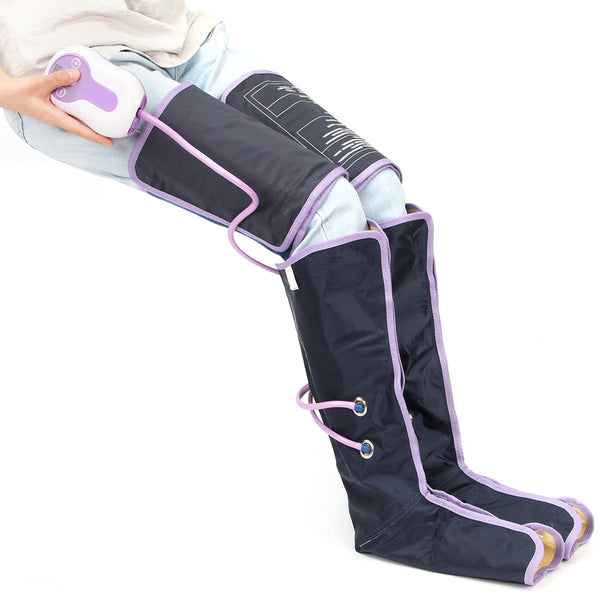 Leg Wrap Massager With Electric Therapy Air Compression