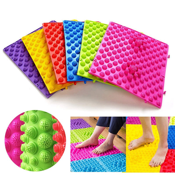 Portable Foot Massage Mat & Shiatsu Reflexology Pad