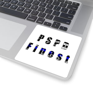 """PSPD Finest"" Cora Rayne Collection - Square Stickers"