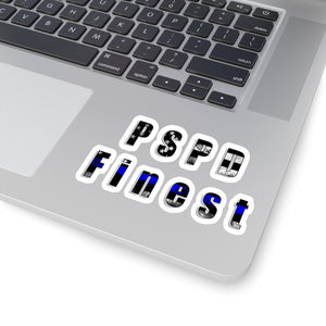 """PSPD Finest"" Cora Rayne Collection - Kiss-Cut Stickers"