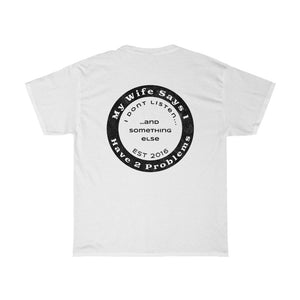 Better Laughing Than Crying Collection - Unisex Heavy Cotton Tee (Warn Vintage Look)