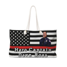 Hero Captain Dave Rosa - Cora Rayne Collection - Weekender Bag