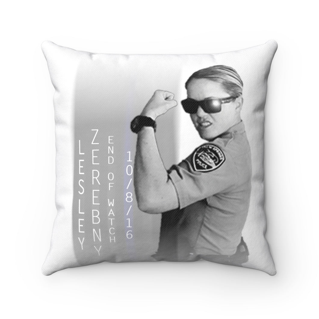 Hero Lesley Spun Polyester Square Pillow