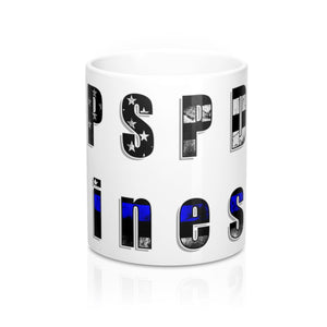 """PSPD Finest"" Cora Rayne Collection - Mug 11oz"