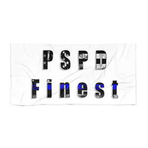 """PSPD Finest"" Cora Rayne Collection - Beach Towel"