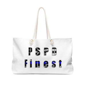 "Cora Rayne Collection  ""PSPD Finest"" Weekender Bag"