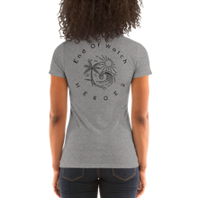 Load image into Gallery viewer, End Of Watch Heroes - Ladies' short sleeve t-shirt