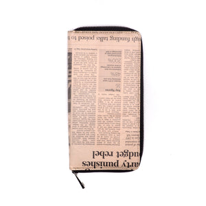 Newspaper Passport Holder | RECYCLED