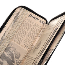 Load image into Gallery viewer, Newspaper Passport Holder | RECYCLED