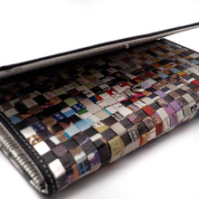 Load image into Gallery viewer, Newspaper Long Wallet | RECYCLED