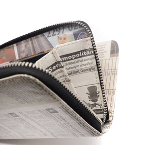 Newspaper Long Wallet | RECYCLED