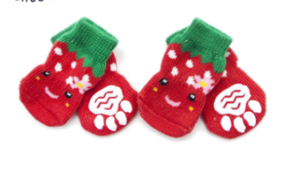 Christmas Socks for Small Pet Dog