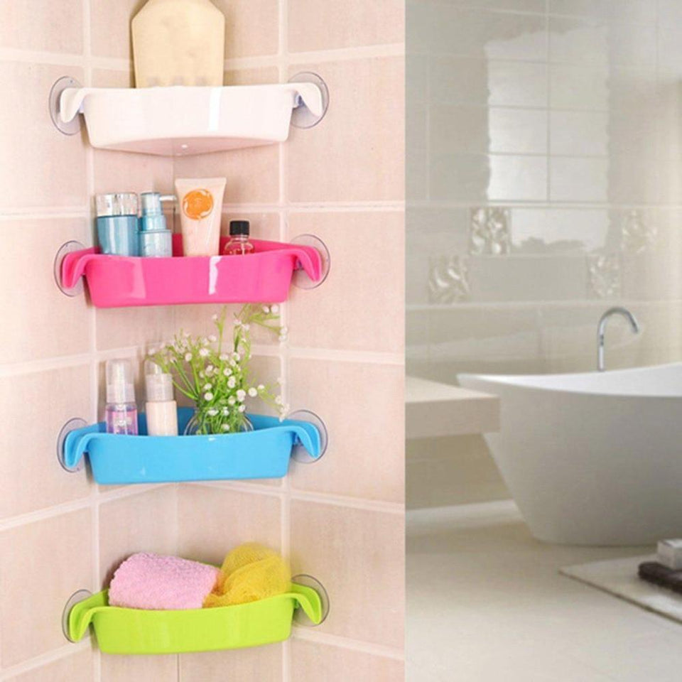 Bathroom Corner Storage Rack - My Wish Boxx