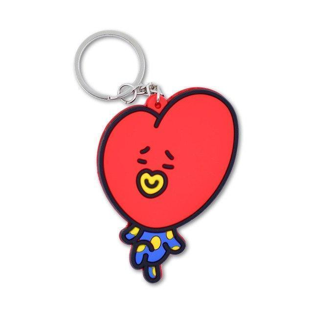 Cartoon Soft PVC Key-chain - My Wish Boxx