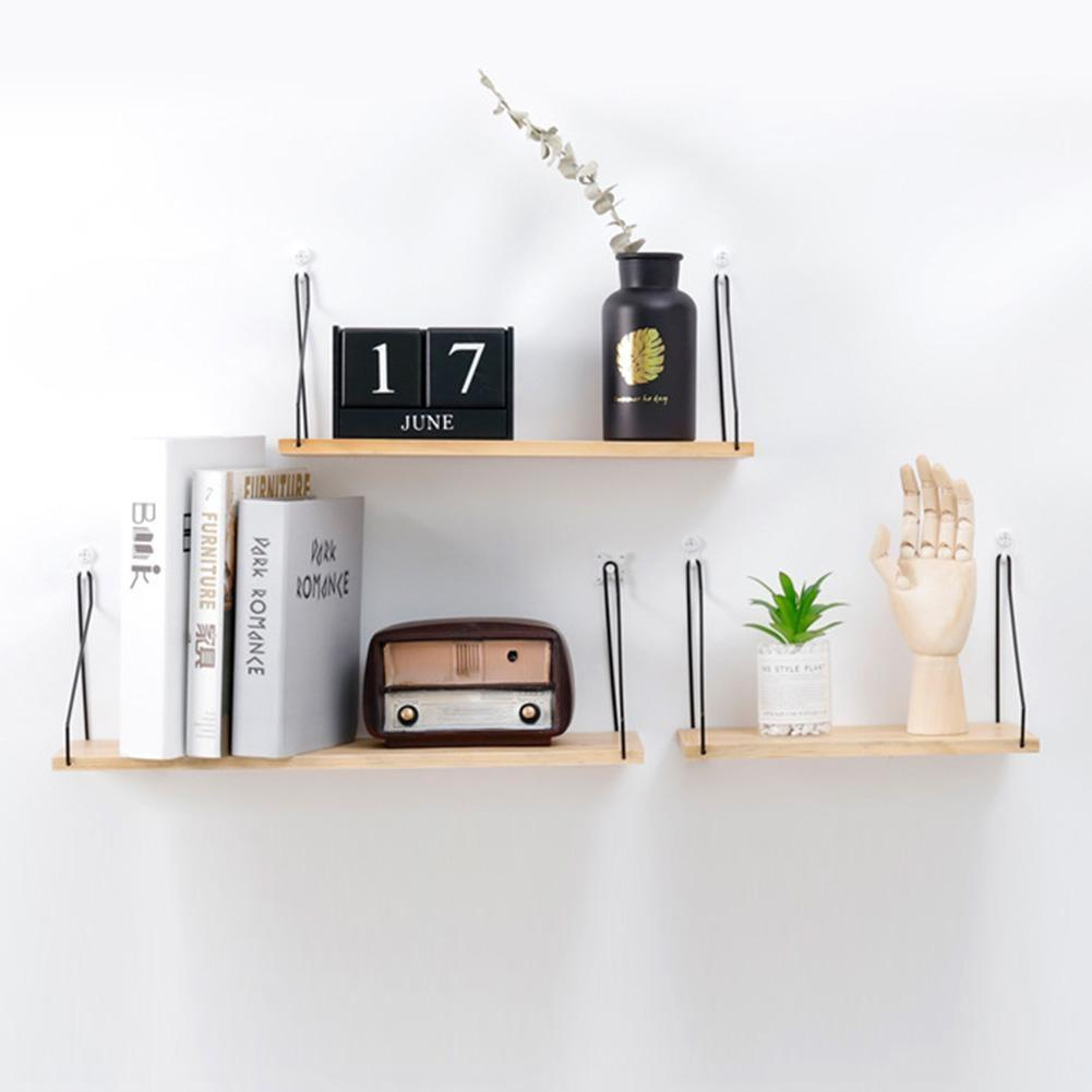 Nordic Wooden Wall Shelf - My Wish Boxx