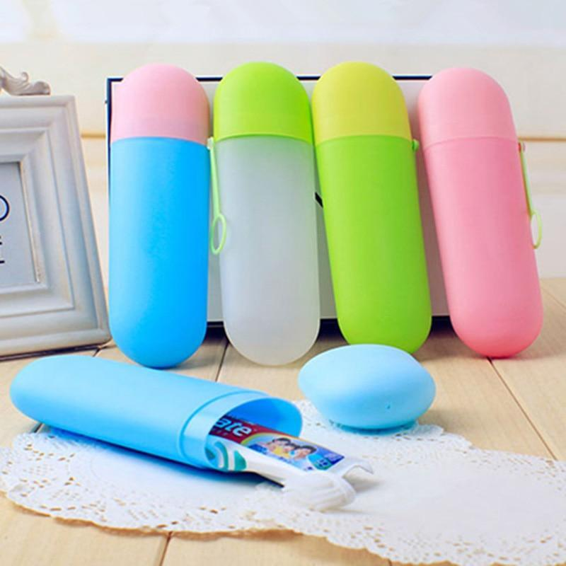 Portable Travel  Toothbrush Holder - My Wish Boxx