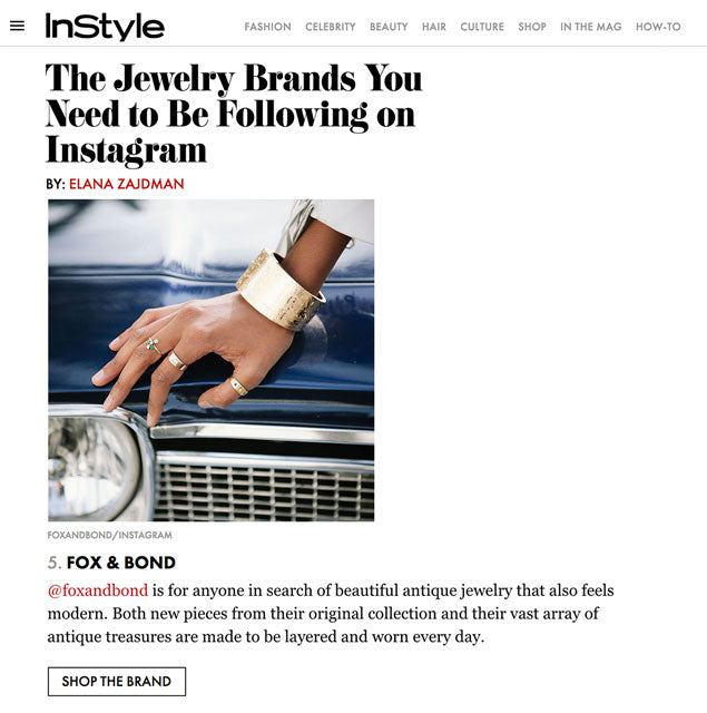 InStyle.com: The Jewelry Brands You Need To Be Following On Instagram