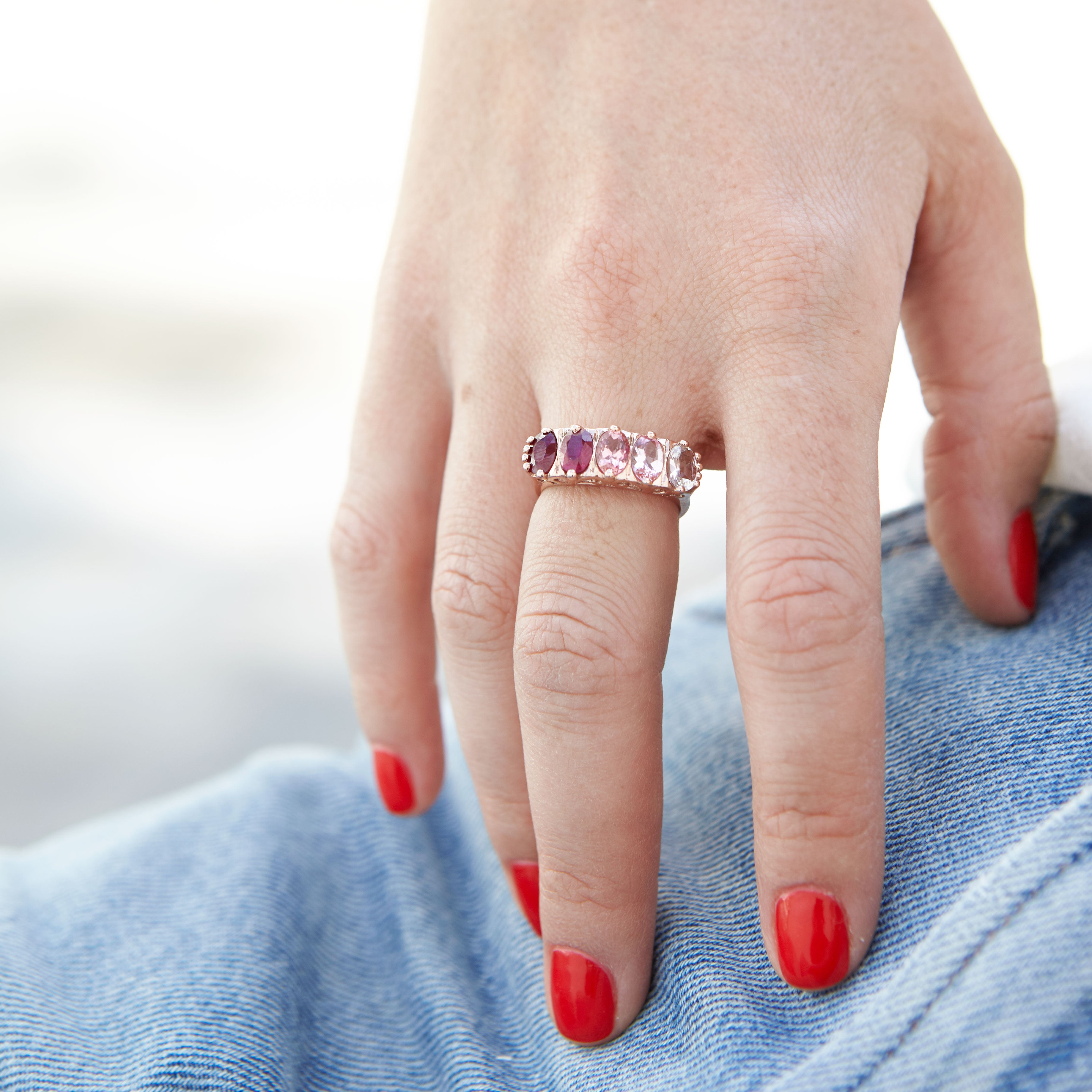 The F&B Peony Ombre Ring