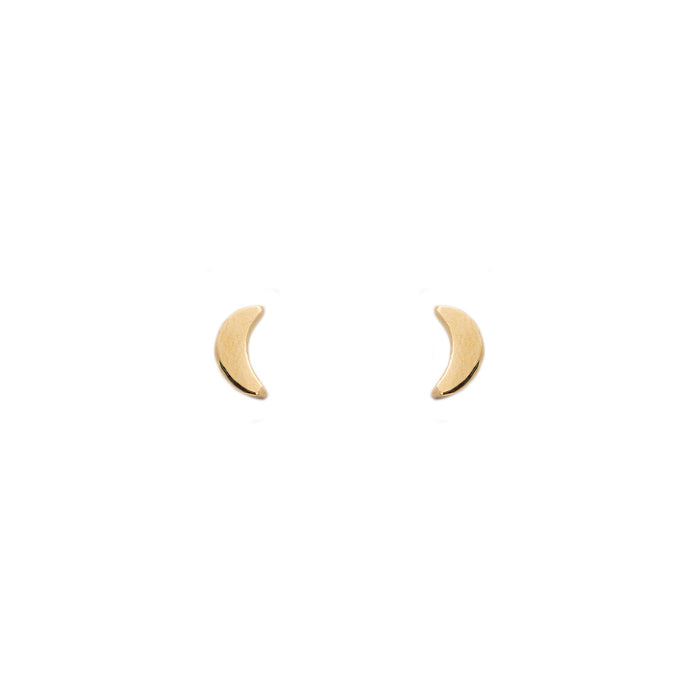 The F&B Crescent Moon Stud Earring
