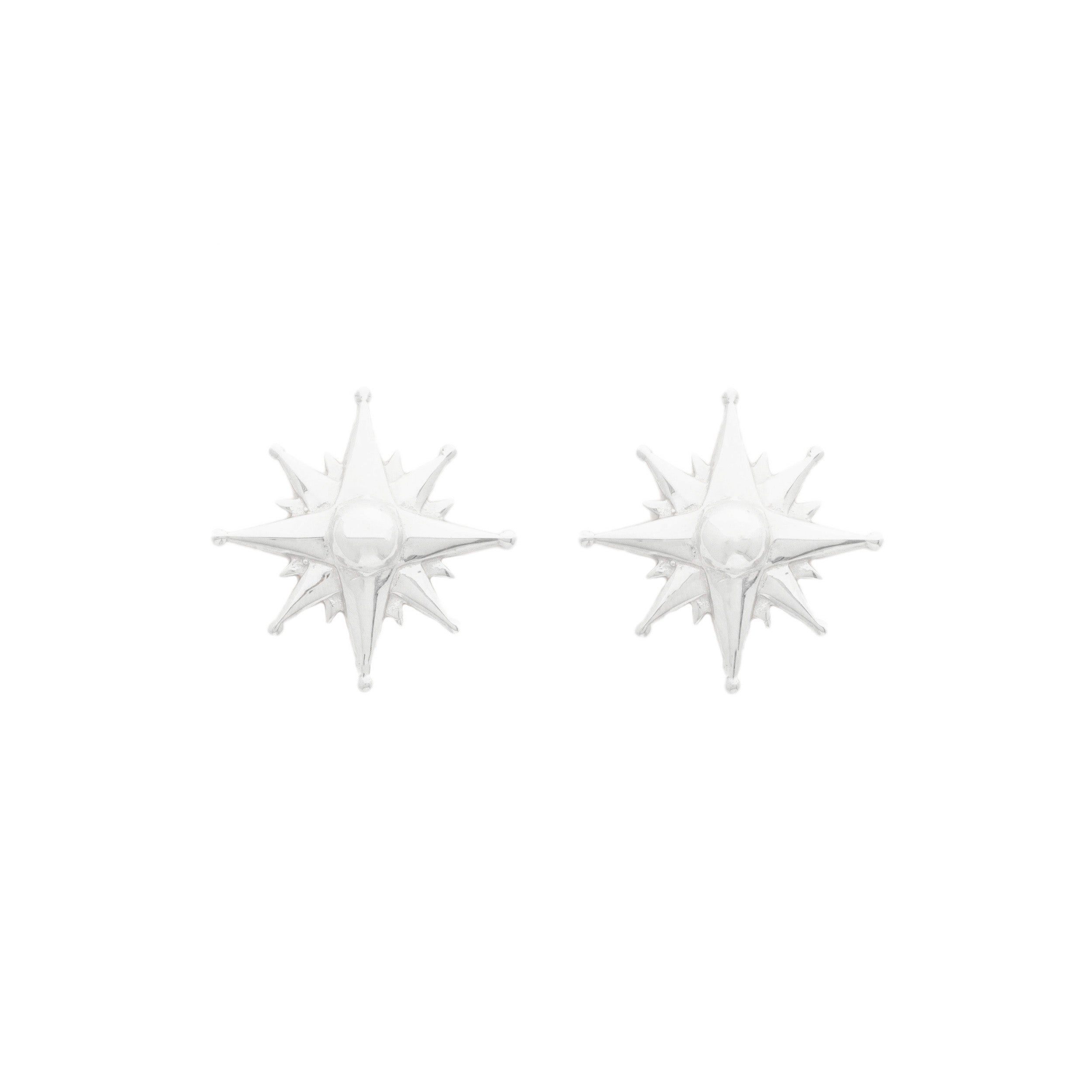 The F&B Compass Earrings