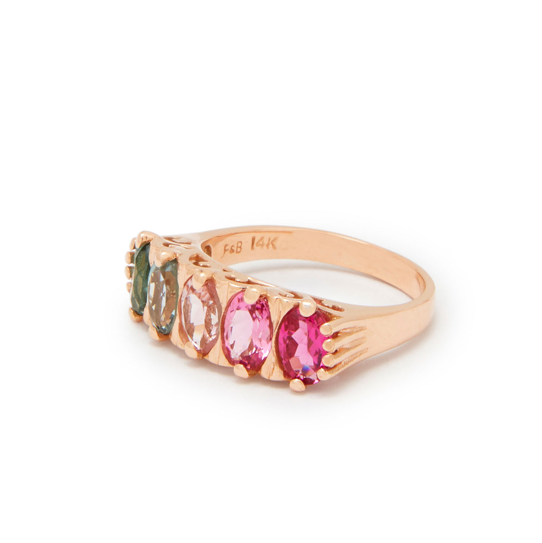 The F&B Cotton Candy Ombre Ring